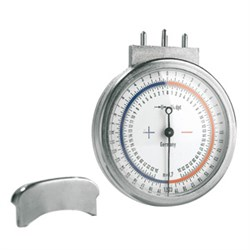 Lens clock for index 1,52 and 1,70