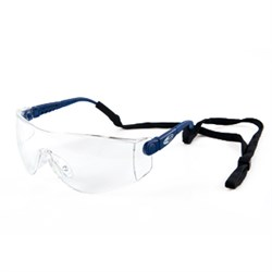 Safety goggle blue