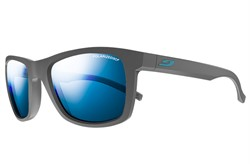 JULBO BEACH Grey/Blue Polarized 3+ Lens: Smoked blue flash