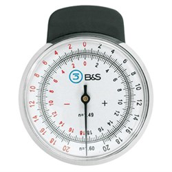 Lens clock for index 1,49 and 1,60