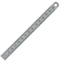 Steel ruler  150mm