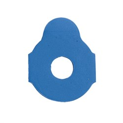 Adhesive blocking pads blue, 24 mm, 1000 pcs.