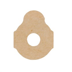 Adhesive blocking pads 3M/411, 24mm,1000pcs.