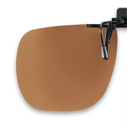 Polarized Flip up brown /75-80%) 3pcs