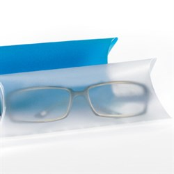 Spectacle PP-case, small, transparent