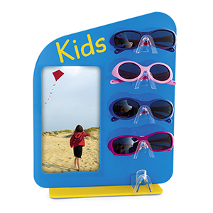 Frame-Display for 5 kids frames