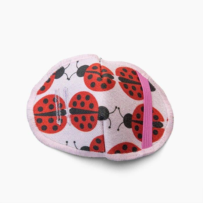 Kaans-Patch Ladybug 1-6 years, 1 pc (approx. 95x70mm)