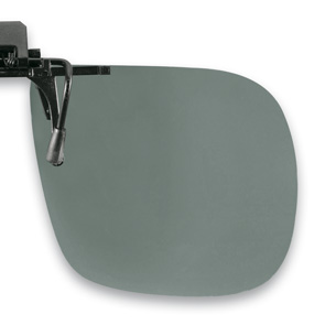 Polarized Flip up grey 60x52mm  (75-80%) 3pcs