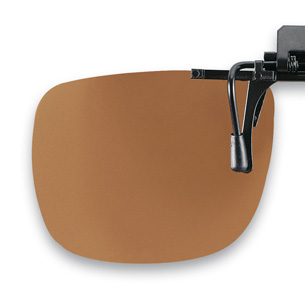 Polarized Flip up brown 54x43mm  (75-80%) 3pcs