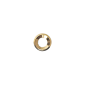 Washer brass gold conic 1,2 100 pcs