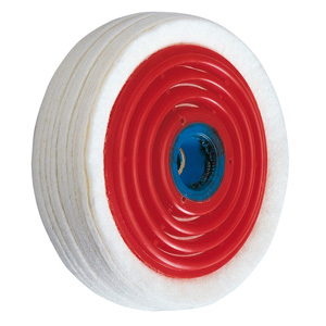 Buffing wheel felt for polycarbonate