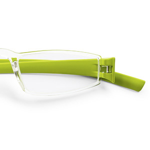 Ready reader 48-20  transp./lime green +1.5