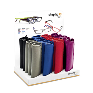 Ready reader plastic set with display 25 pcs