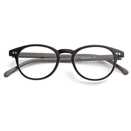 Ready reader plastic black/brown +3,0 46-20