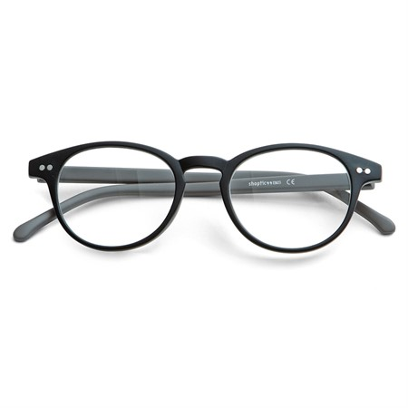 Ready reader plastic black/grey +3,0 46-20