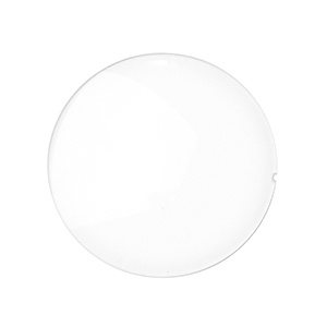 Plano lens CR39 white, base 4, 10 pcs