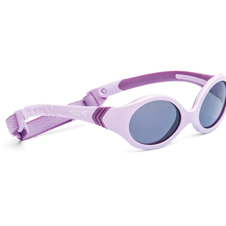 MILO & ME Sun 1 Lilac/Purple, Grey non-polarized 40-15