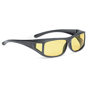 Overspecs plastic black, yellow 25% (M) 63-12