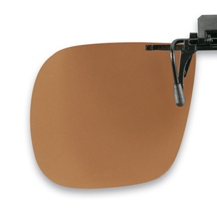 Polarized Flip up brown 60x52mm  (75-80%) 3pcs