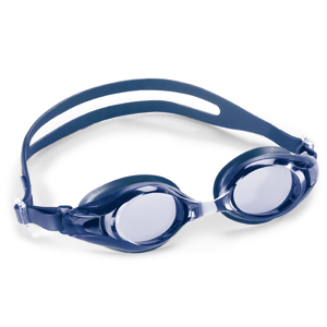 Swimming goggles Deluxe blue Lens: blue-with plano lenses