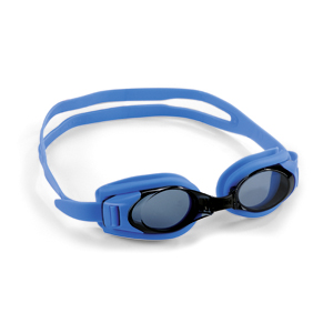 Swimming goggles Blue with plano lenses/correction lenses