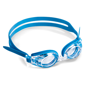 Swimming goggles for kid blue-with plano lenses