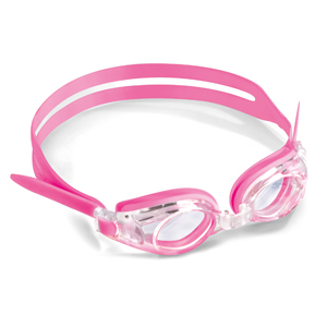Swimming goggles for kid pink-with plano lenses
