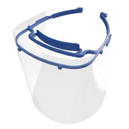Face shield polycarbonat 348 mm x 245 mm, 1st