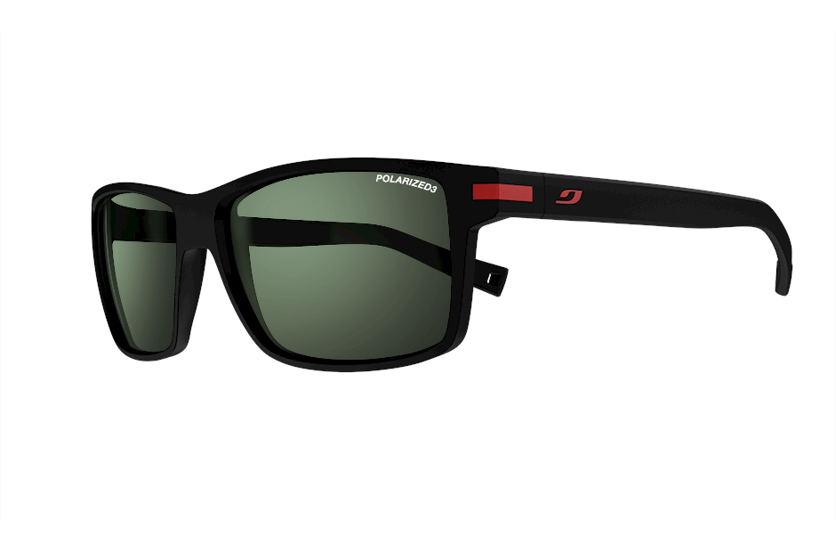 a5815e9cf0 JULBO SYRACUSE Matt black Polarized 3 Lens Green